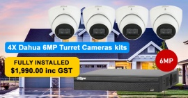 Dahua CCTV Camera Installation Package